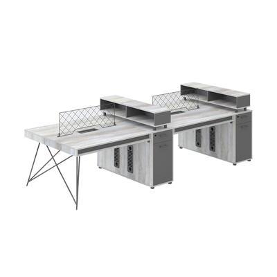 Simple modern office desk portfolio