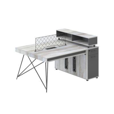 Modern simple desk, office screen employee desk fashion office desk chair combination