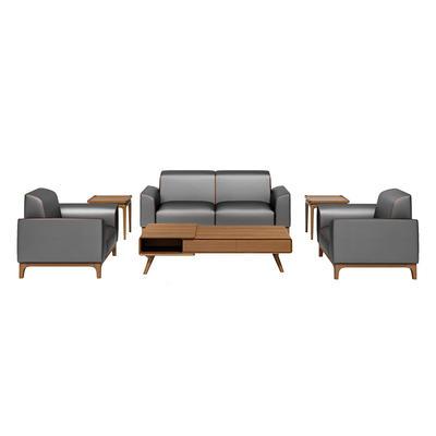 Office reception area furniture, reception room seating sofa