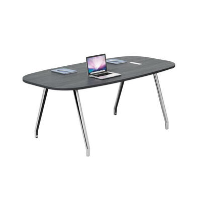 Simple modern leisure table training desk reception round table desk small conference table negotiation table