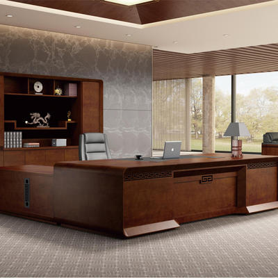 The chairman's table Big shift supervisor desk is simple